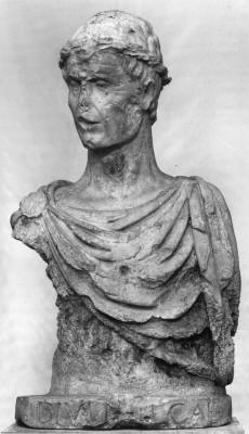 II. Frigyes császár mellszobra
