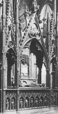 Edmund Crouchback (?-1296) síremléke