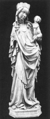 Madonna-szobor Kislomnicról