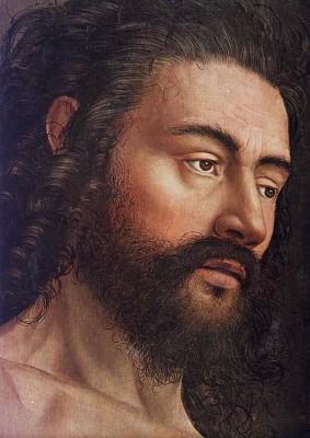 Jan van Eyck: Ádám a genti oltárról