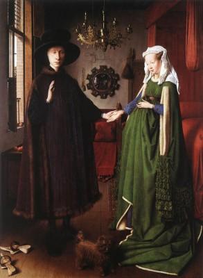 Jan van Eyck: Arnolfini házaspár