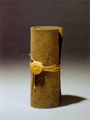 Joseph Beuys: Pecsétes levél