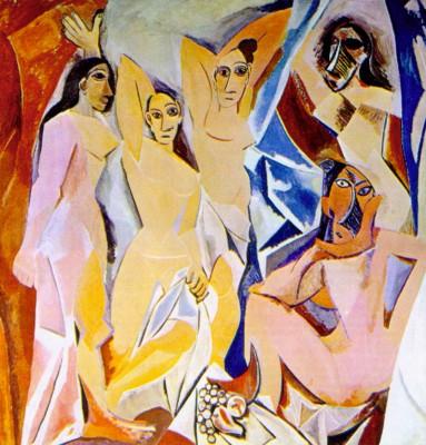Pablo Picasso: Az avignoni kisasszonyok