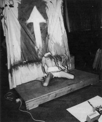 Hajas Tibor: Chöd. Performance. 1979.