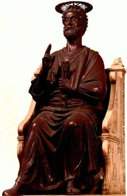 Arnolfo di Cambio: Szent Péter