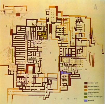 A Knósszoszi palota alaprajza