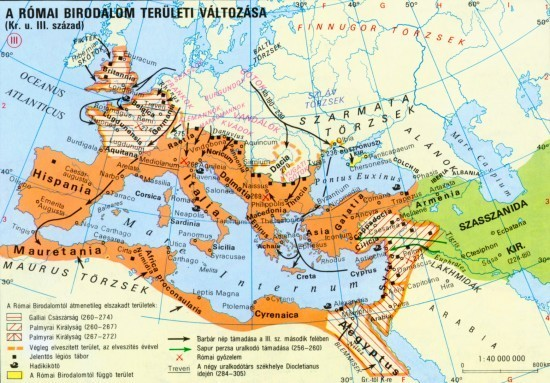 római birodalom térkép Művészettörté  7. évfolyam | SuliTudásbázis római birodalom térkép
