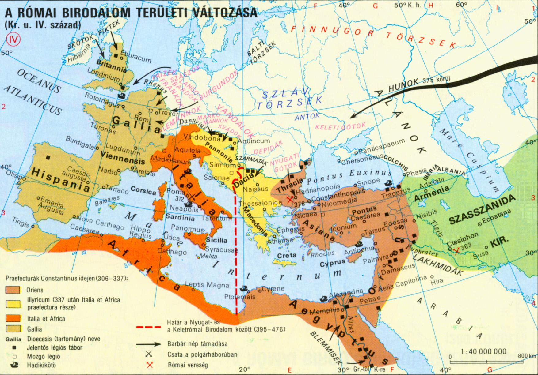 Római birodalom provinciái