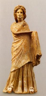 Egy Tanagra-figura