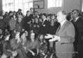 Francois Mitterrand a Kölcsey Gimnáziumban