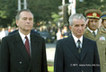Grósz Károly és Nicolae Ceausescu munkatalálkozója Aradon