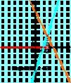 A 3x-4<-2x+6 egyenlőtlenség