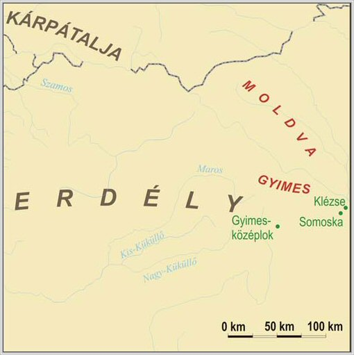 A bemutatásra kerülő balkáni eredetű táncok vidéke