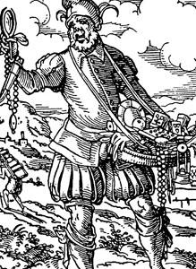 Vándor árus a 16. században