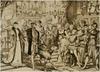 V. Károly császár megérkezik az augsburgi birodalmi gyűlésre
