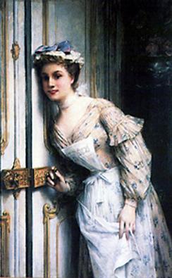 A huszadik század elejének kissé telt szépségideálja