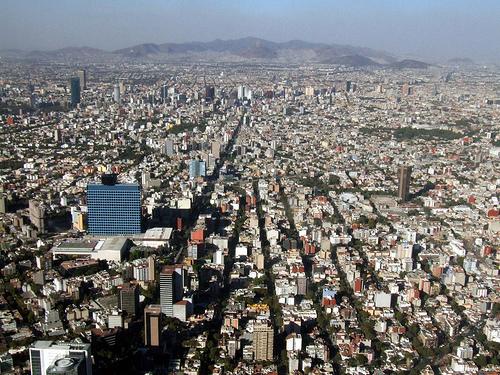 Mexikóváros népesség