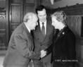 Kádár János üdvözli Margaret Thatchert