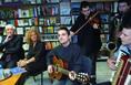 Czeizel Endre könyvének bemutatója előtti zenei műsor