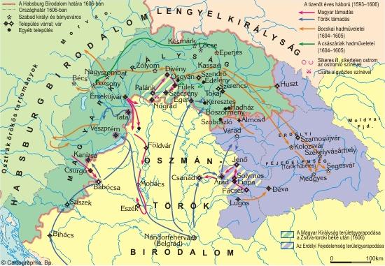 A tizenöt éves háború és a Bocskai-szabadságharc