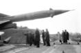 Az észak-atlanti küldöttek a magyar rakétás egységnél