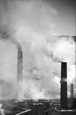 Levegőszennyezés - ipar