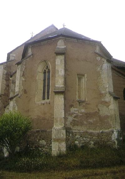 A bodrogkeresztúri plébániatemplom templomszentélye