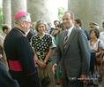 Spanyol királyi pár esztergomi látogatása