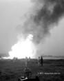 Gázkitörés a zsanai olajkútnál