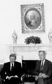 Antall József és George Bush