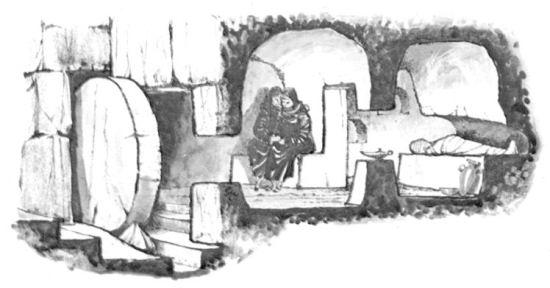 Palesztiniai zsidó sír mai rekonstrukciója