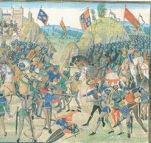 A crécy-i csata (1346)