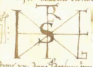 Szent István király monogramja