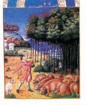 Mezőgazdasági munkák ábrázolása