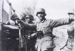 Német katonák