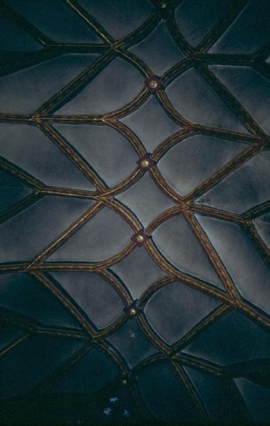 Az andocsi plébániatemplom szentélyének hálóboltozata