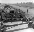 M1-es autópálya építése