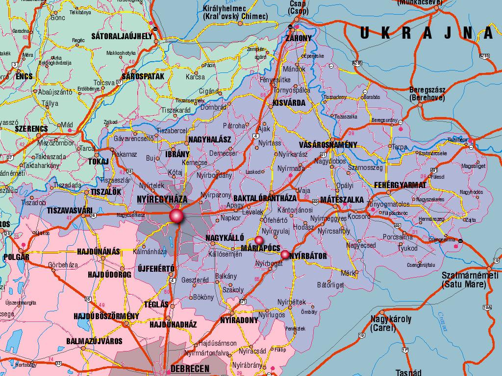 szabolcs megye térkép Ember a természetben   5. osztály | SuliTudásbázis szabolcs megye térkép