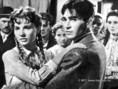 Töröcsik Mari és Soós Imre a Körhinta c. filmben, 1955-ben