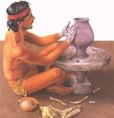 Sok görög fazekas használt korongot az edények elészítéséhez
