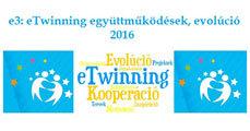 e3: eTwinning együttműködések – evolúció (2016)