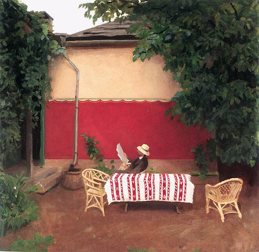 617px-Ferenczy,_Károly_-_Red_Wall_(1910)