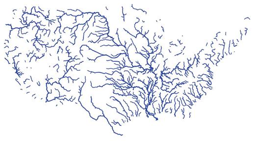 USA-vízhálózat