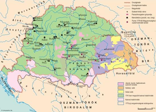 Magyarország újjáépítése és a polgári állam alapjainak lerakása a 18-19. században
