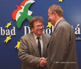 Konrád Györgyöt köszöntötték a szabad demokraták