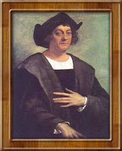 Kolumbusz Kristóf portréja