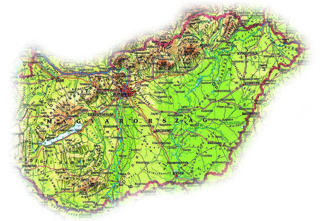 magyarország tájai térkép Ember a természetben   3. osztály | SuliTudásbázis magyarország tájai térkép