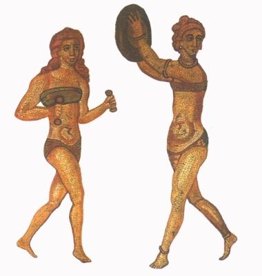 Testedző római nők