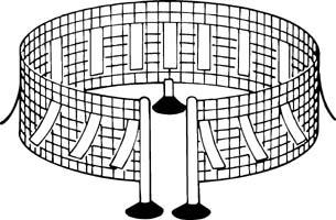 Csak a feltöltött fém külső oldalán jeleznek töltést az elektroszkópok
