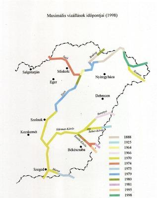 A Tisza vízgyűjtőterülete